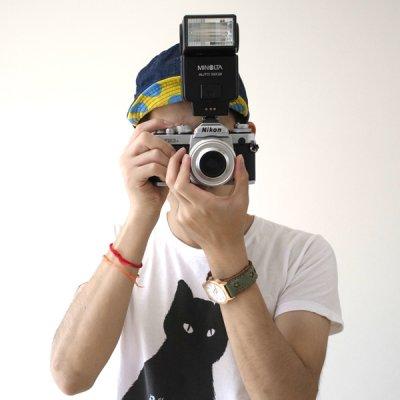 画像1: 《SALE》Finchカメラキャップ【インディゴブルー/ドット】