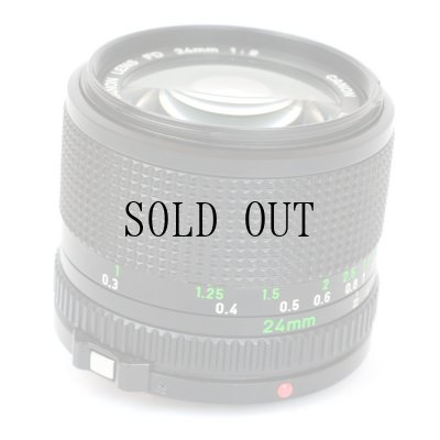 画像4: Canon(キャノン)NEW FD 24mm/F2