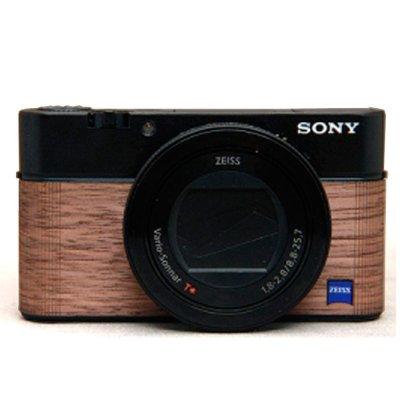 画像1: Sony RX100 III, RX100 IV専用カスタムレザー [Walnut]