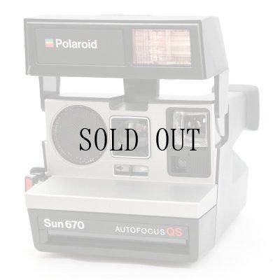 画像1: Sun 670 AutoFocus QS ポラロイドカメラ
