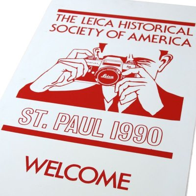 画像3: The Leica Historical Society of America イベント看板 ※レア