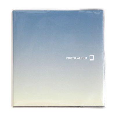 画像1: チェキ,チェキスクエアアルバム [ブルー&ホワイト]※チェキフィルム160枚収納可能