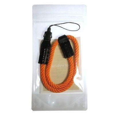 画像4: クライミングロープ リストストラップ【オレンジ】