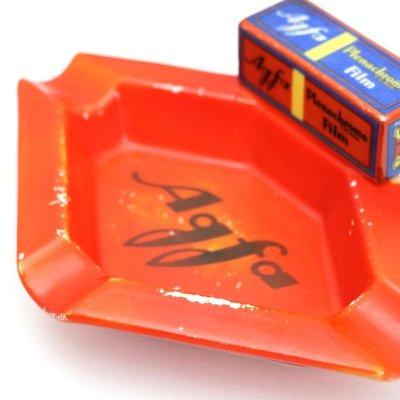 画像4: ビンテージ AGFAアッシュトレイ(陶器) ※レア