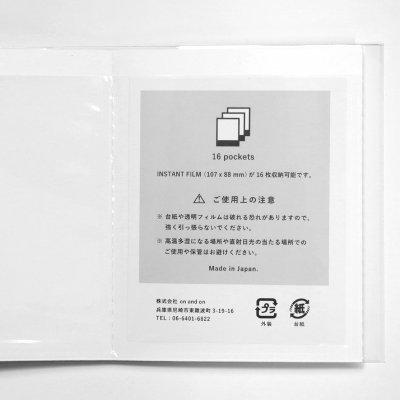 画像2: Polaroid Original Japan ポラロイドアルバム[J]