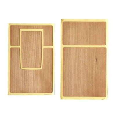 画像1: SX-70用貼替え革 天然木 チェリーウッド