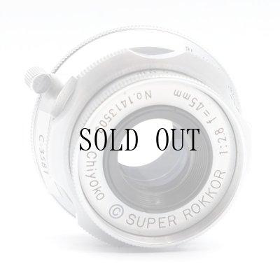画像5: [渋谷ロフト店]Chiyoko(千代田光学)Super Rokkor 45mm/F2.8