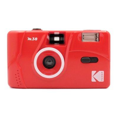 画像1: KODAK(コダック)M38 フィルムカメラ|フレイムスカーレット