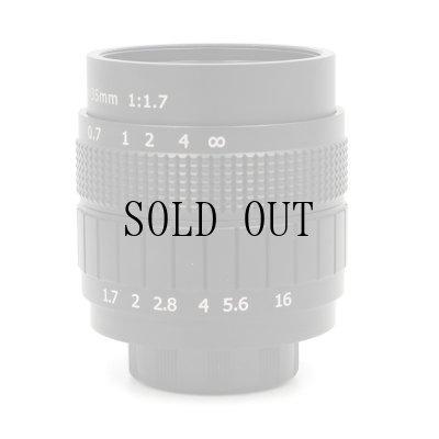 画像2: [渋谷ロフト店]CCTV Lens 35mm/F1.7[Black]