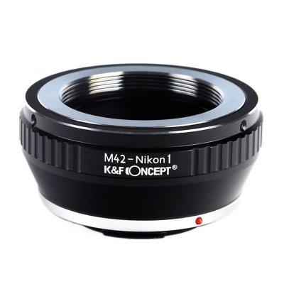 画像1: M42-Nikon 1専用マウントアダプター