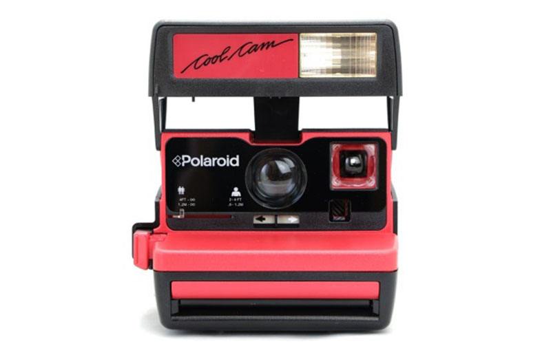 Polaroid Coolcam Red