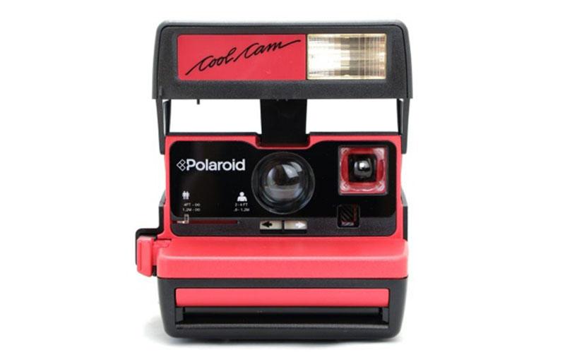 Polaroid Coolcam Red