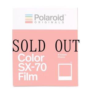 画像: Polaroid Originals / Color SX-70 Film ※NEW